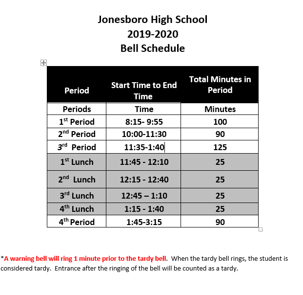 Home - Jonesboro High School